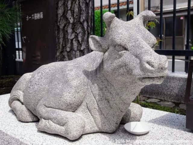 六波羅蜜寺のなで牛