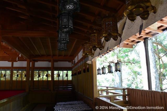 天河神社拝殿
