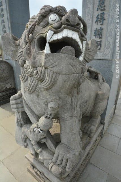 聖天宮の狛犬