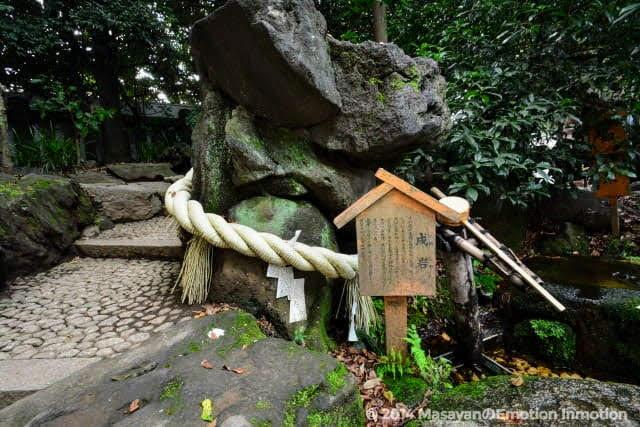 川越氷川神社/戌岩