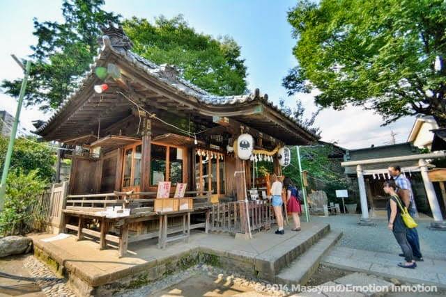 川越熊野神社拝殿