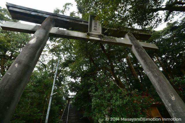 長浜神社の鳥居
