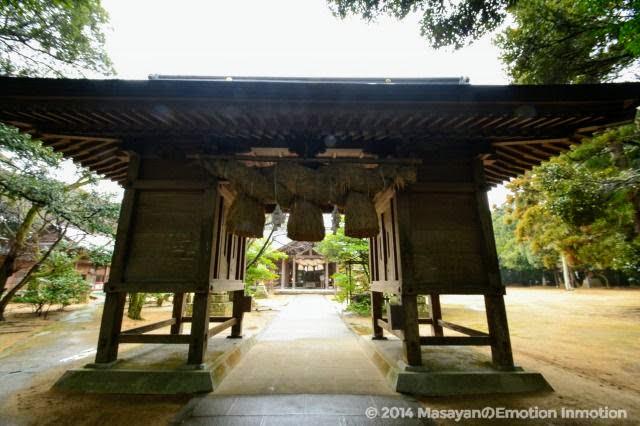 長浜神社・随神門