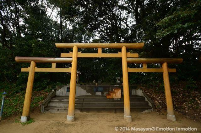 長浜神社・三ツ鳥居