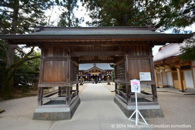 八重垣神社神門