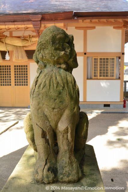 八重垣神社狛犬