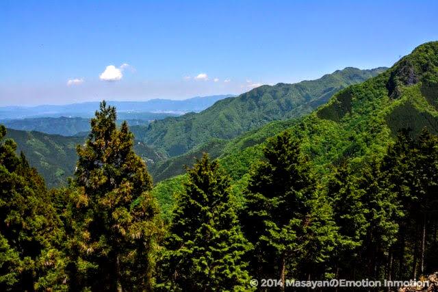 三峯神社遥拝殿からの眺め