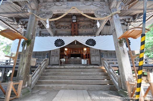 戸隠神社・宝光社拝殿