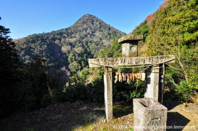 日室ヶ嶽遥拝所