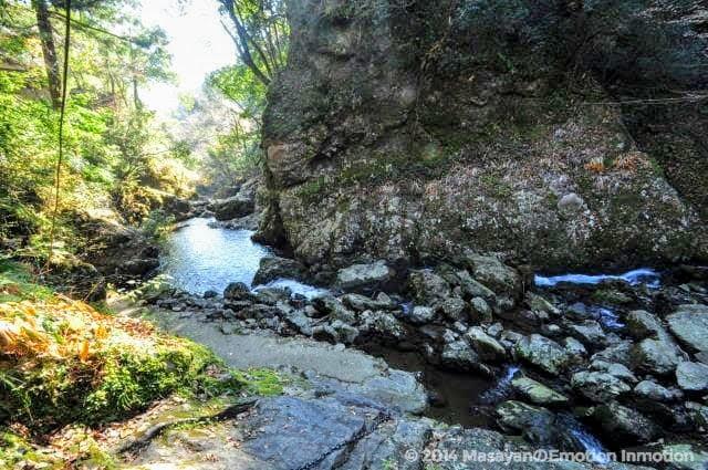 天岩戸神社からの景色