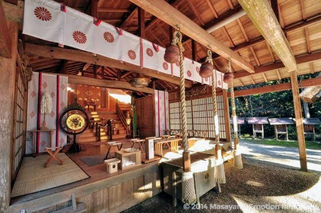 皇大神社拝殿