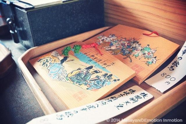 吉野神宮の絵馬