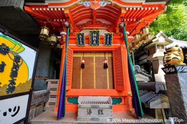信貴山・朝護孫子寺の三福神堂