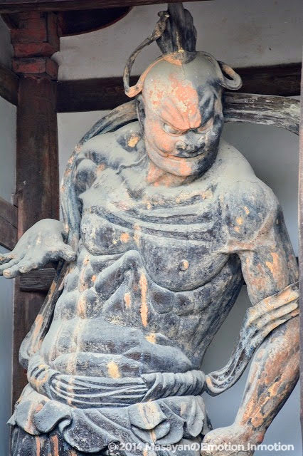 法隆寺/金剛力士像