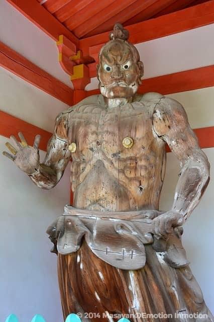 壺阪寺/仁王像