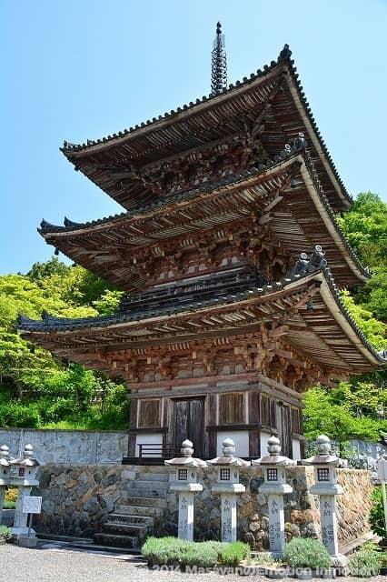 壺阪寺/三重塔