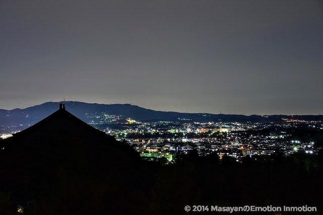 夜の東大寺二月堂