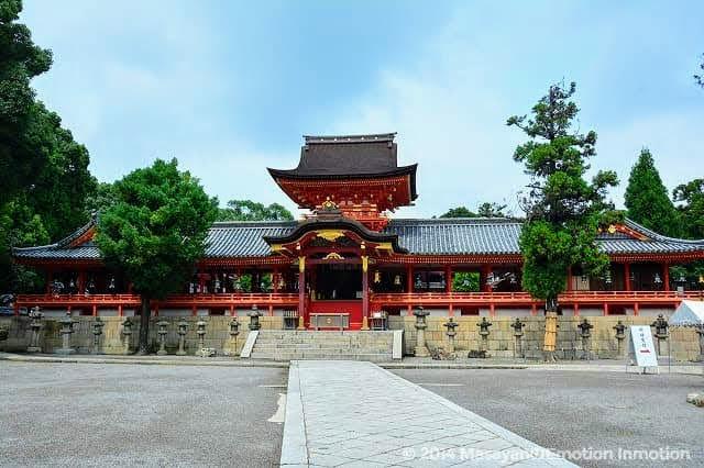 石清水八幡宮の拝殿