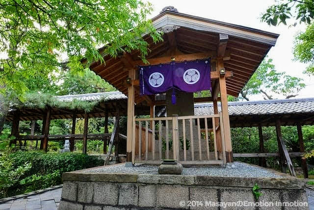 南宗寺/徳川家康の墓