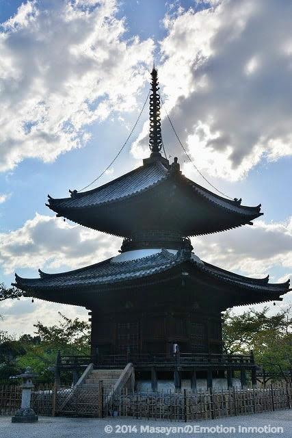 叡福寺多宝塔