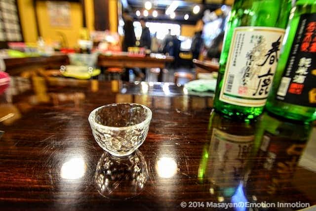 春鹿利き酒