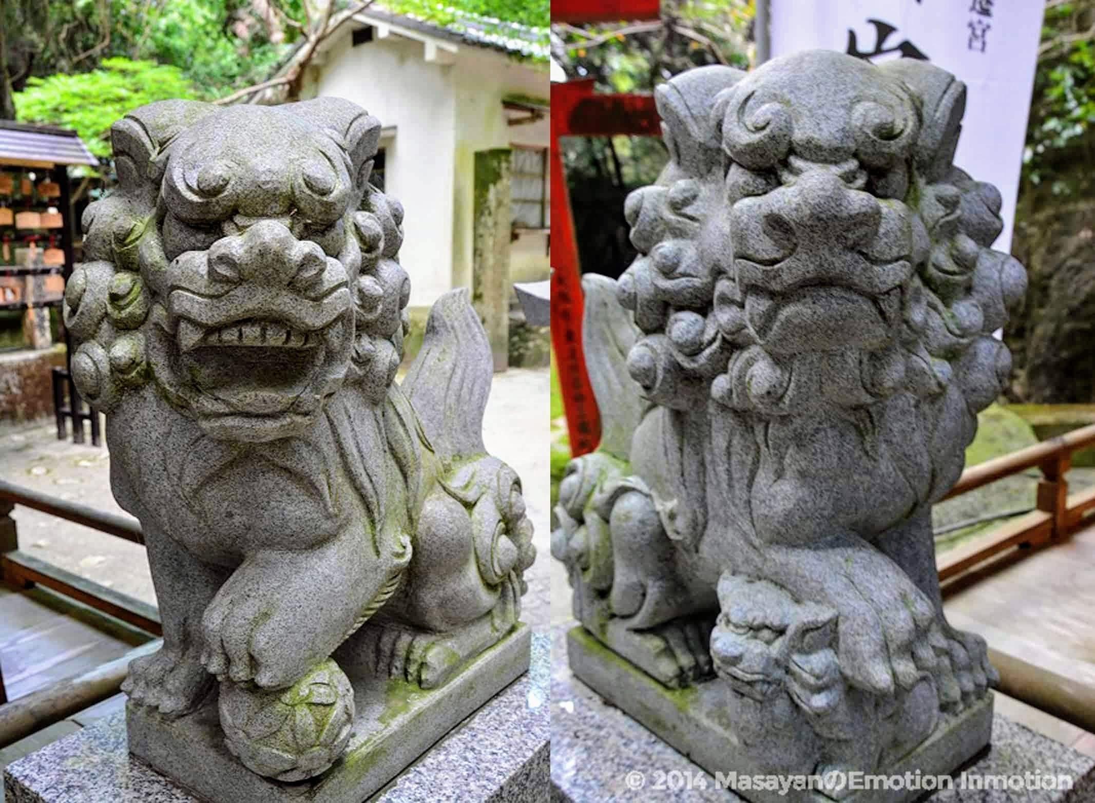 磐船神社狛