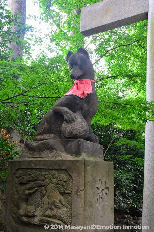 馬橋稲荷神社の稲荷様