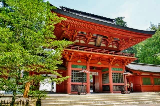 香取神宮の楼門