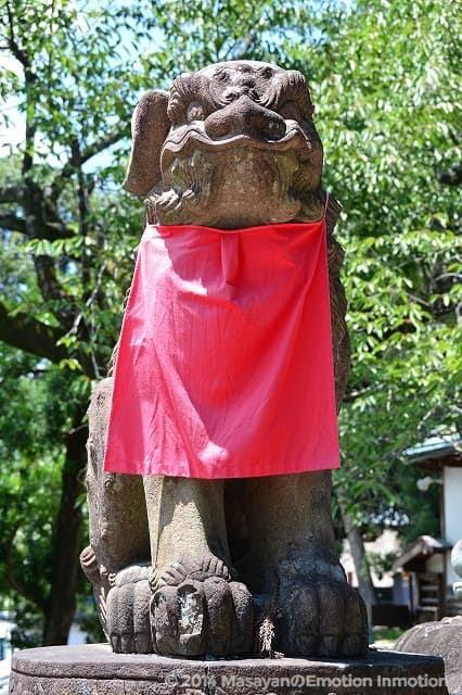氷室神社/狛犬