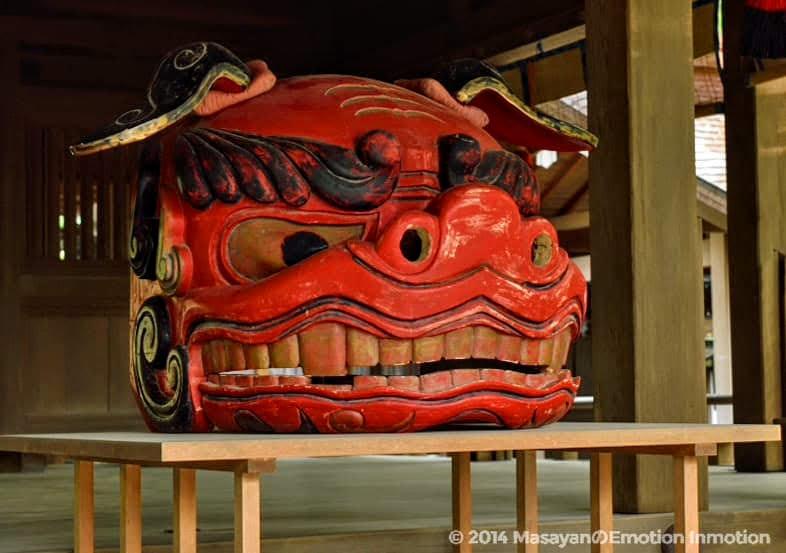 鎌倉宮獅子頭