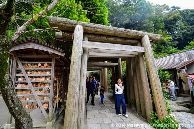 銭洗弁財天宇賀福神社の鳥居