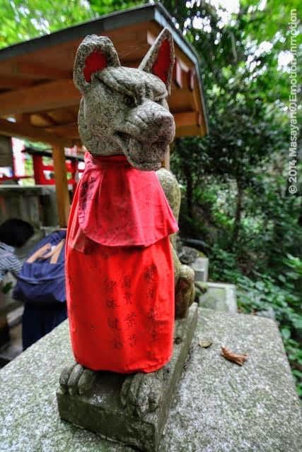佐助稲荷神社の稲荷様