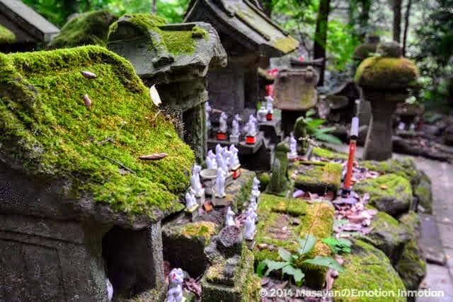 佐助稲荷神社の祠と稲荷