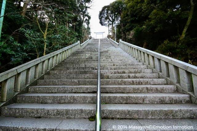 大洗磯前神社階段