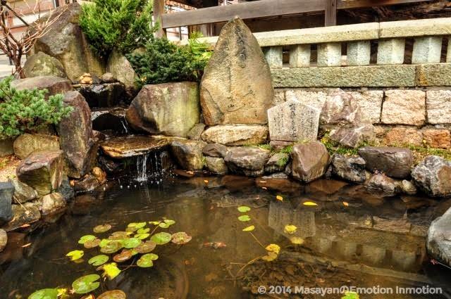須磨寺/敦盛首洗池