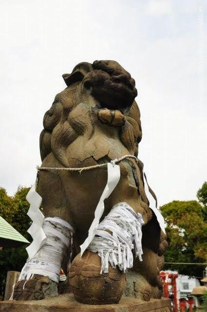 和田神社/狛犬