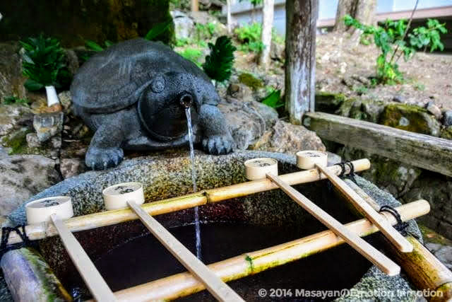 霊泉・亀の井