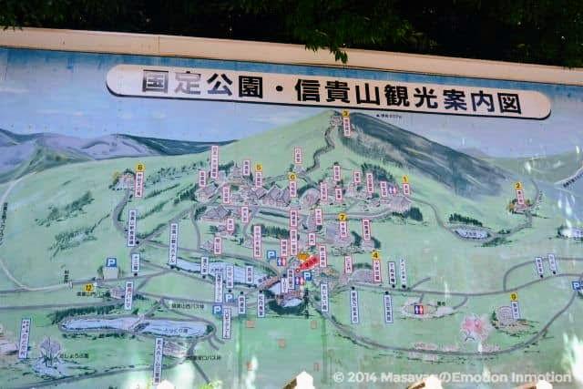 信貴山MAP