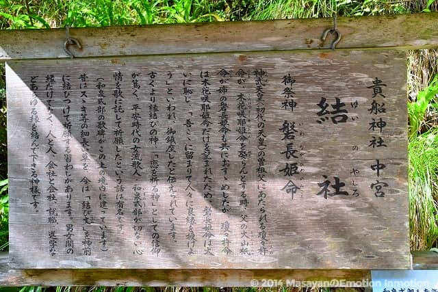 貴船神社中宮・結社