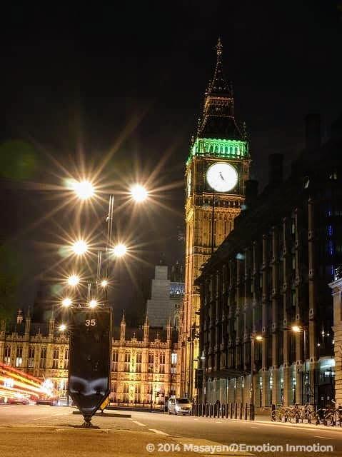 ロンドン夜景
