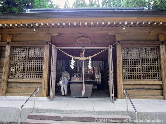 和気神社/拝殿