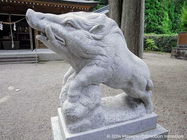 和気神社/狛猪