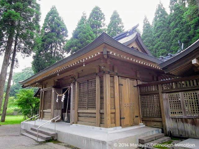 和気神社拝殿