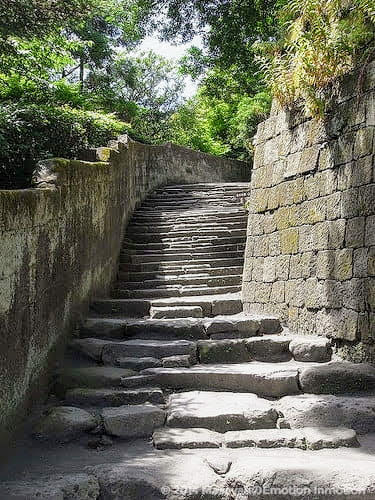 仙巌園/篤姫ロケ地の石段