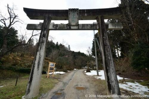 稲田神社鳥居