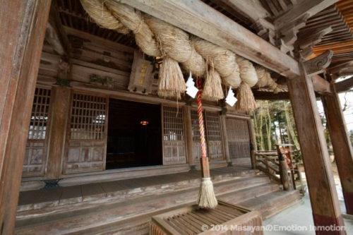 稲田神社拝殿