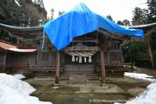 稲田神社/幣殿