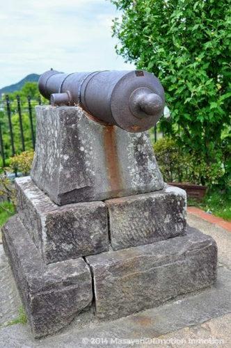 グラバー園の大砲