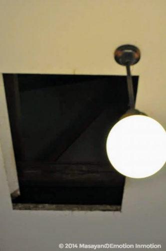グラバー邸の屋根裏部屋