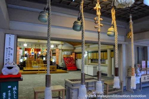 二見興玉神社の拝殿
